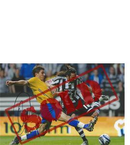 Jonás Gutiérrez Newcastle Photo (Signed)