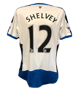Jonjo Shelvey Newcastle United Shirt 2015/16 (Match-Worn)