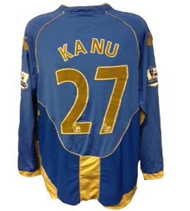 Kanu Portsmouth Home Shirt (Match-Worn)