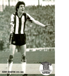 Kenny Wharton Newcastle United Heroes (Postcard)