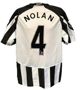 Kevin Nolan Newcastle United Shirt 2010/11 (Match-Worn)