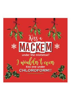 Kiss a Mackem? (Greetings Card)