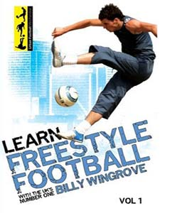 Learn Freestyle Football With Billy Wingrove (DVD)