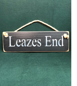 Leazes End Newcastle United (Wooden Sign)