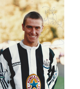 Lee Clark Newcastle Photo (Signed)