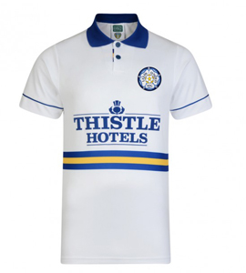 Leeds United 1994 Official Retro Home Shirt