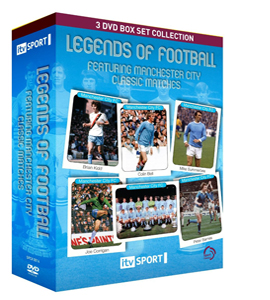Legends of Football Classic Manchester City Matches Box Set (DVD