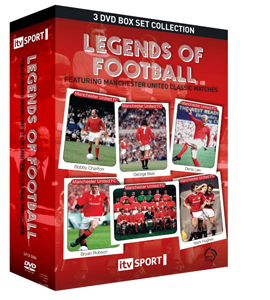 Legends of Football Classic Manchester United Matches Box Set (D