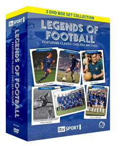 Legends of Football Classic Chelsea Matches Box Set (DVD)