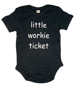Little Workie Ticket, Vest (Babywear)