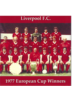 Liverpool 1977 European Cup Winners (Ceramic Coaster)