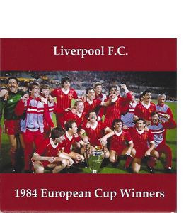 Liverpool 1984 European Cup Winners (Ceramic Coaster)