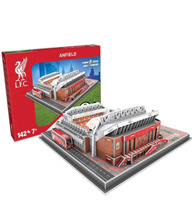 Liverpool 3D Football Stadium Puzzle
