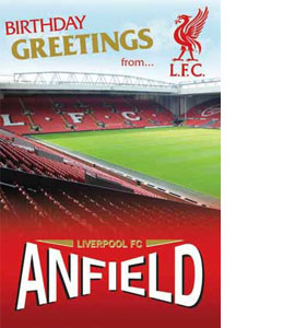 Liverpool Anfield Pop Up Card