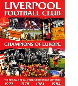 Liverpool Football Club Champions of Europe (DVD)