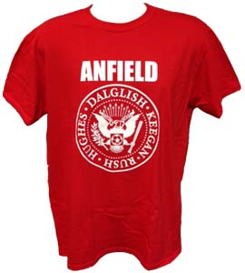 Liverpool Legends Dalglish Keegan Rush Hughes (T-Shirt)