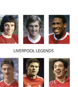 Liverpool Legends (Greetings Card)