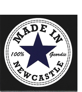 Made In Newcastle (Ceramic Coaster)