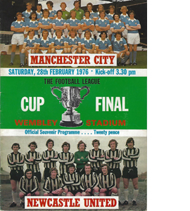 Man City v Newcastle 1976 League Cup Final (Programme)