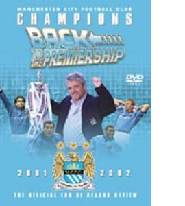 Manchester City - Champions - Back To The Premiership (DVD)