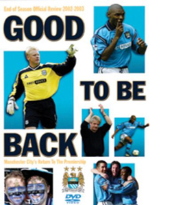 Manchester City - Good To Be Back (DVD)