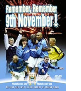 Manchester City - Remember, Remember 9th November (DVD)
