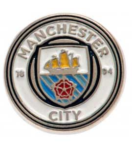 Manchester City F.C. Official Badge