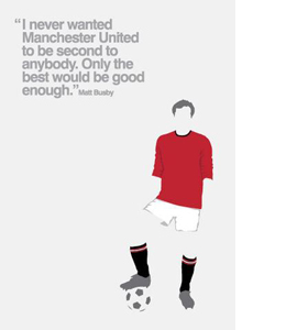 Manchester United FC (Greetings Card)