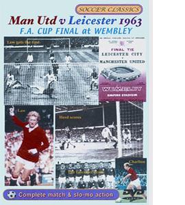 Manchester Utd V Leicester 1963 (DVD)