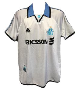 Marseille 1999-00 Home Shirt