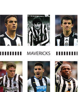 Mavericks Newcastle United (Greeting Card)