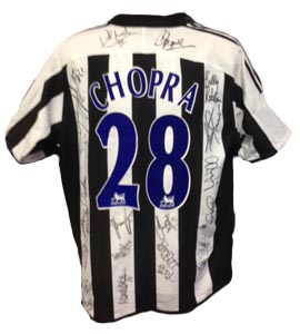 Michael Chopra Newcastle United Shirt 2003/04 (Match-Worn)