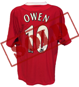 Michael Owen Liverpool 2002/03 Shirt (Match-Worn)