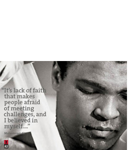 Muhammad Ali In Training (Greeting Card)