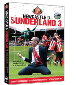 Newcastle 0 Sunderland 3 (DVD)