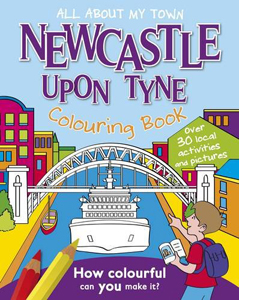 Newcastle Colouring Book