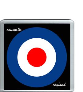 Newcastle England Target (Coaster)