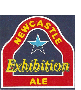 Newcastle Exhibition Ale Vintage Beer Mat (Ceramic Coaster)
