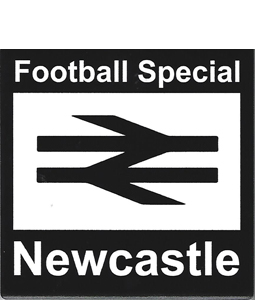 Newcastle Football Special Retro Style (Ceramic Coaster)