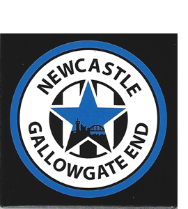Newcastle Gallowgate End (Ceramic Coaster)