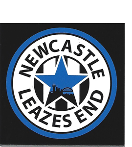 Newcastle Leazes End (Ceramic Coaster)