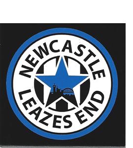 Newcastle Leazes End (Ceramic Coaster)