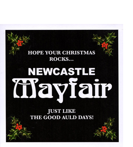 Newcastle Mayfair Christmas (Greetings Card)
