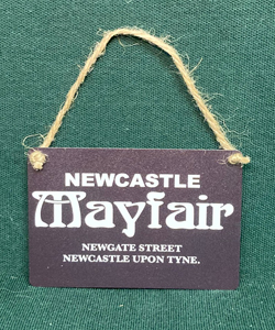 Newcastle Mayfair (Metal Dangle)