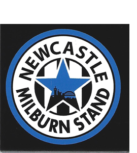 Newcastle (West Stand) The Milburn Stand (Ceramic Coaster)