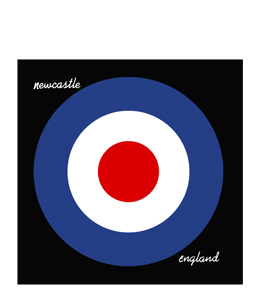 Newcastle Mod Target (Greetings Card)