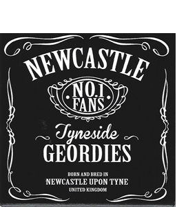 Newcastle No1 Fans (Ceramic Coaster)