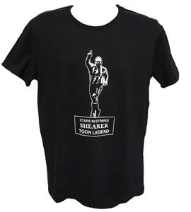 Newcastle Stars in Stripes Shearer (T-Shirt)