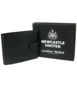 Newcastle United Embossed Leather Wallet