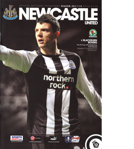 Newcastle United v Blackburn (FA Cup) 11/12 (Programme)